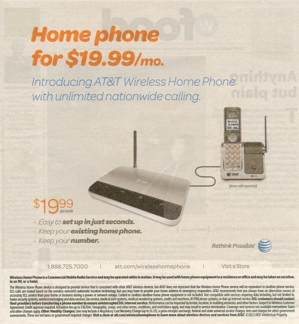 AT&T Landline offer0001