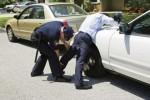 police frisking