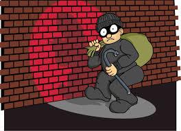 A Burglar has little chance at The Cloister