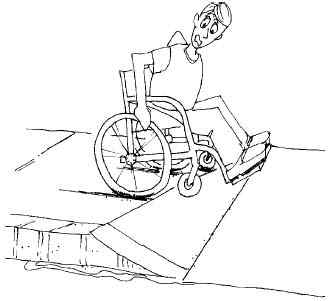 Americans with Disability Act declares Cloister sidewalks unsafe